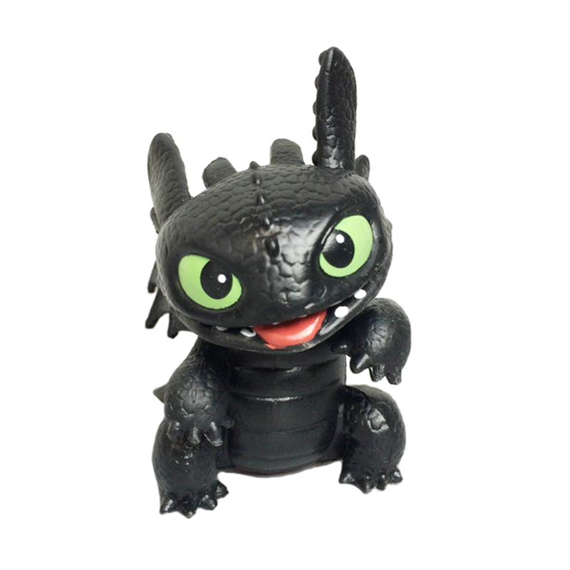 How to Train Your Dragon Toothless Cute Tongue Style Mini Night Fury Action figure DollHow to Train Your Dragon Toothless Cute Tongue Style Mini Night Fury Action figure Doll