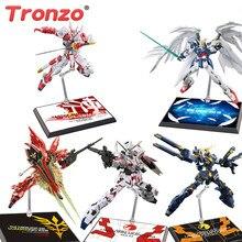 Tronzo figurine soutien Gundam modèle Support Support Robot bricolage Gunpla Sinanju Banshee égaré EW présentoir pour RG HG 1/144