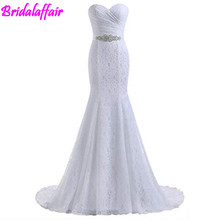 Women's Lace Mermaid wedding dress plus size Bridal Wedding gown wedding dresses princess vintage wedding dress bride gown lace plus size maxi prom princess wedding dress
