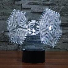 Star Wars TIE Fighter 3D USB LED Night Light