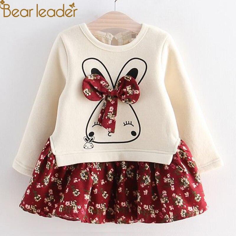 Bär Führer Mädchen Kleid Pentagramm Prinzessin Kleid Marke Mädchen Kleidung Kinder Kleidung Europäischen und Amerikanischen Stil Mädchen Kleider