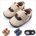 2016 bebé fresco zapatos de marca recién nacido del niño suave suela Prewalker Bebe ocasional zapatos Sapatos