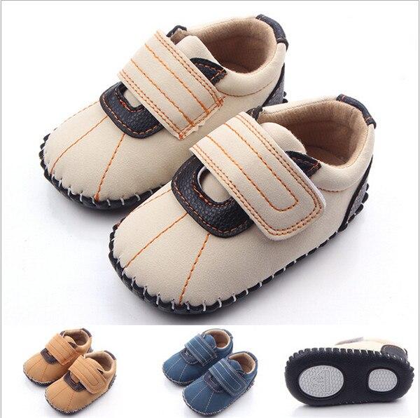▽2016 fresco Zapatos de bebé marca recién nacido Boy Soft sole ...