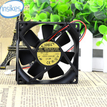 AD0812MB-A70GL DC 12 V 0.15A 0.15A 8025 8 CM 80*80*25mm 1800 RPM 2 Fios Silencioso Ventilador de Refrigeração da fonte de Alimentação do chassi