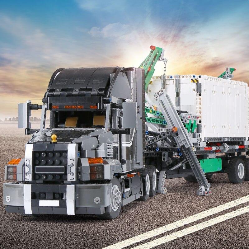 20076 기술 시리즈 맥 큰 트럭 세트 42078 빌딩 블록과 호환 벽돌 교육 장난감 크리스마스 선물-에서블록부터 완구 & 취미 의  그룹 1