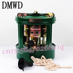 DMWD Mini المحمولة القابلة للإزالة في الهواء الطلق 8 الفتائل موقد يعمل بالكيروسين موقد للتخييم سخانات للنزهة