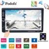 Podofo Car Radio Autoradio GPS Navigation 7 LCD Touch Multimedia Player Audio Stereo Bluetooth Car Audio