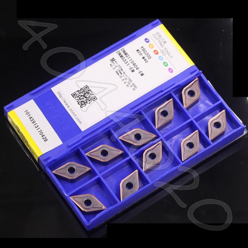 DNMG150608 EM YBM253 DNMG150608 EM YBG205 DNMG150604 EM YBG202 DNMG110404 EM YBG205 A batch of ZCC