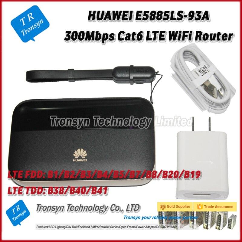 HUAWEI E5885LS-93A 300 Mbps 4g LTE Mobile Hotspot WiFi Supporto B1/B2/B3/B4/B5 /B7/B8/B20/B19