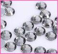1440 pçs/lote, ss16 (3.8-4.0mm) de Alta Qualidade DMC Diamante Negro Ferro Em Pedrinhas/Hot fix Strass