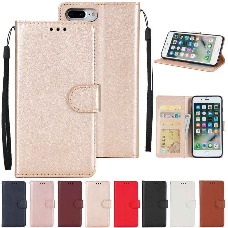 Coque Luxury Retro Flip Case For Apple iphone 7 plus 5.5 inch PU Leather+Silicon Cover For Apple iphone 7 plus Case phone Fundas