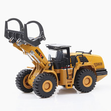 Ant 1:50 value cool model car toy alloy grab wood bulldozer children gift decoration