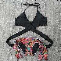 Triangle Bikini Brazilian Bandage Swimwear Women 2017 New Swimsuit Girl Bandage Secret Sexy Low Waist Bikinis