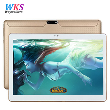 Free Shipping 10.1 tablet pc Android 5.1 Octa Core RAM 4GB ROM 64GB 1280*800 IPS MT6592 Dual SIM card Bluetooth GPS tablets+gift