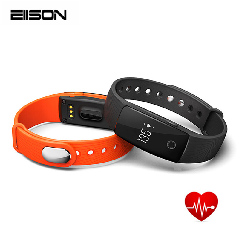 Smart Bracelet ID107 Smartband Heart Rate Monitor Wristband Fitness Tracker Smar