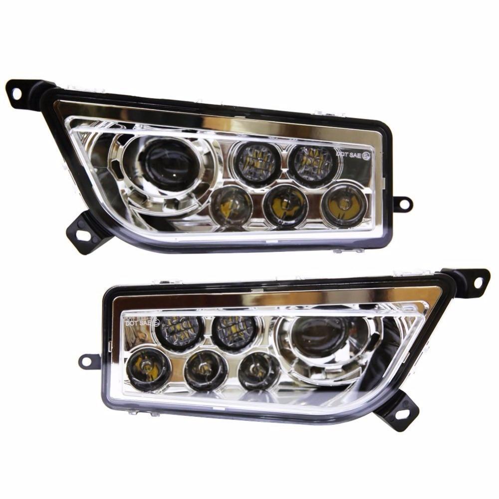 Продвижение! Авто аксессуары 2шт ATV светодиодные фары комплект фар для Polaris бритва пуш 1000