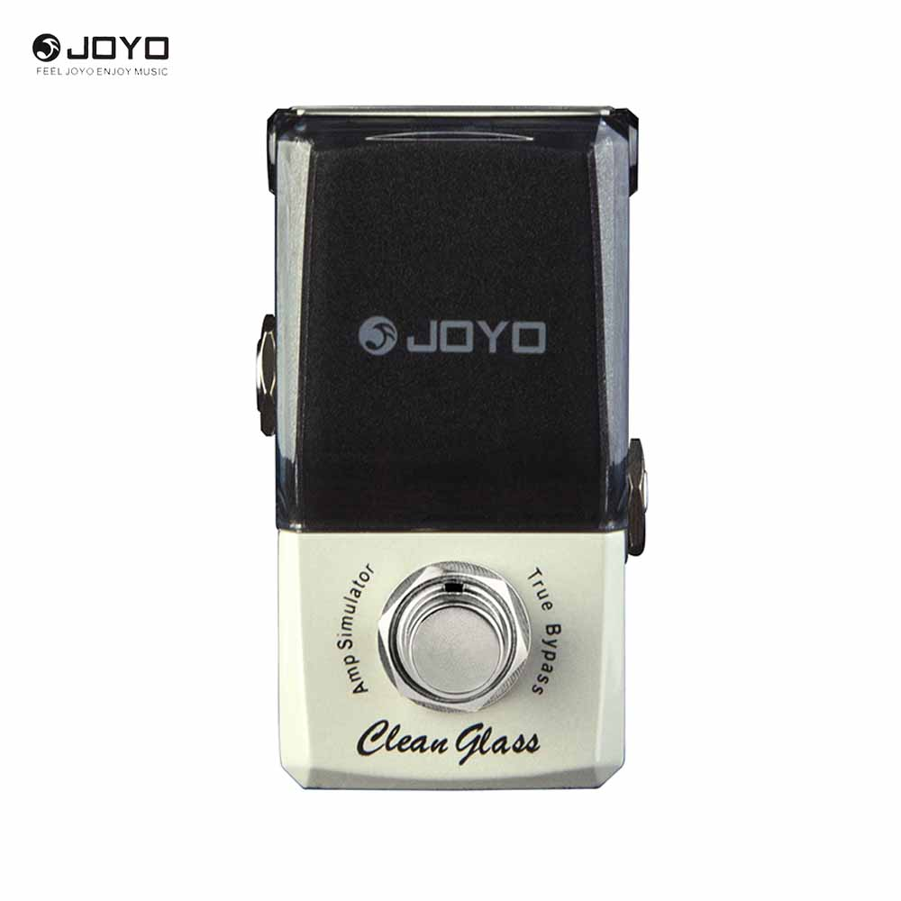 JOYO JF-307 Ironman Series Clean Glass Amp Simulator Mini Effect Pedal True Bypass joyo ironman orange juice amp simulator electric guitar effect pedal true bypass jf 310 with free 3m cable