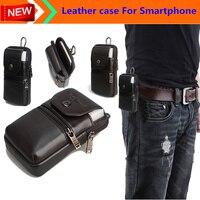 Hakiki Deri Kılıf Taşıma için Kemer Klip Kılıfı Bel Çanta Kılıf Kapak LG X Görünüm Su Geçirmez SmartPhone çanta Ücretsiz Kargo