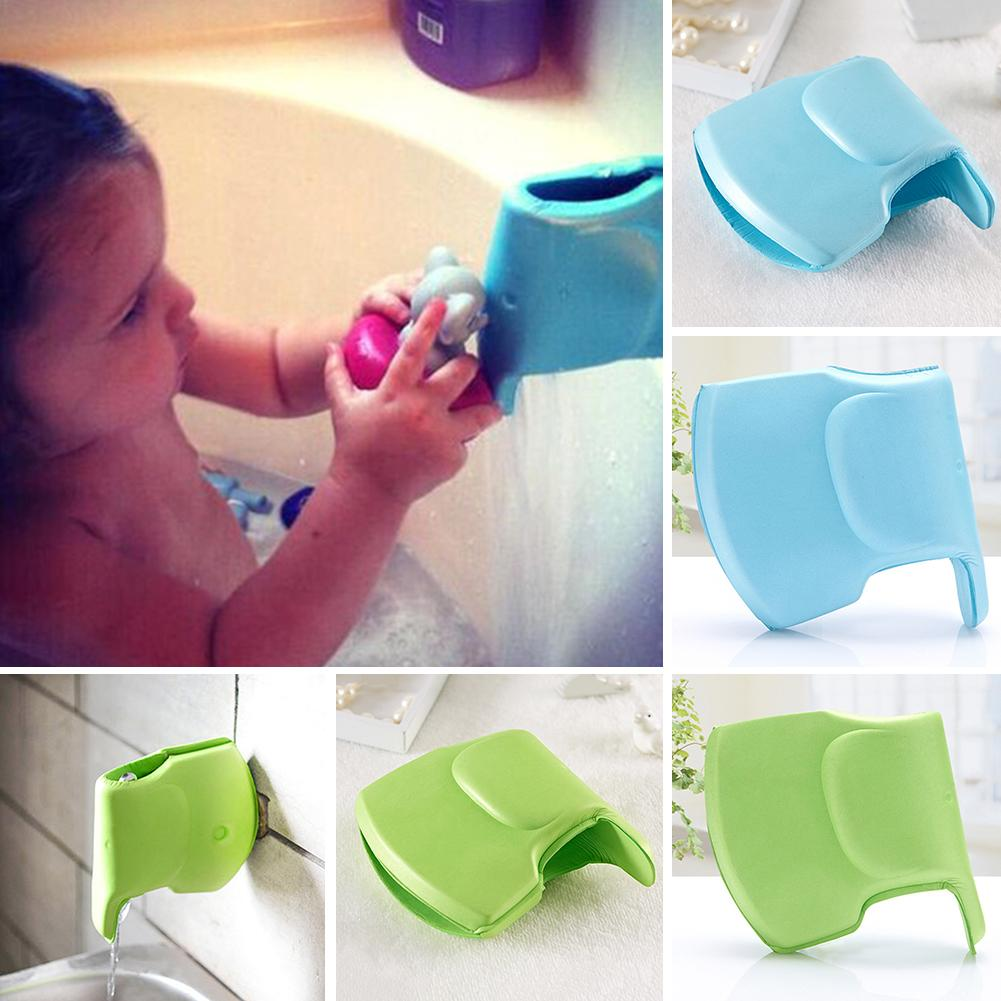New Water Tap Faucet Cover Baby Wash Safety Supplies Elephant Head Protector