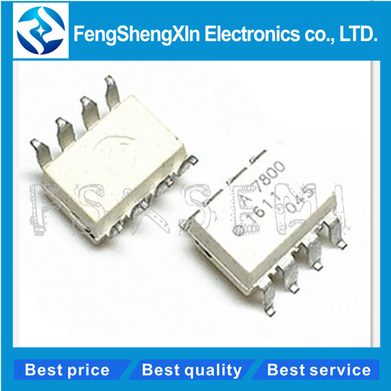2PCS HCPL7800 A 7800 A7800 A 7800 SOP-8 SMD High Isolation Amplifiers