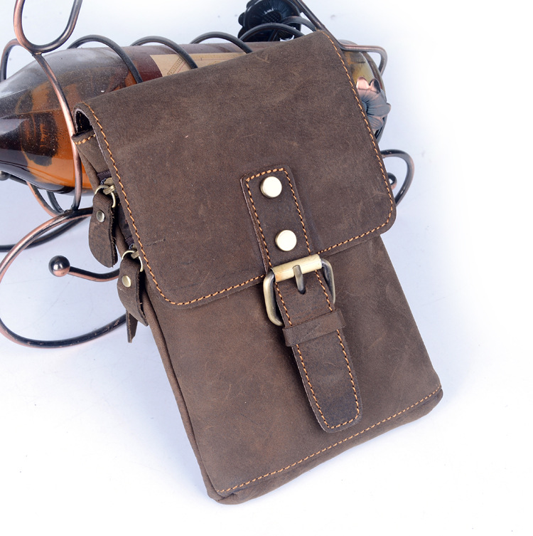 NEWEEKEND Crossbody Leather Bags for Men Handbag Genuine Leather Messenger Bolsa Male Bags Shoulder Men's Bag LZ-58774