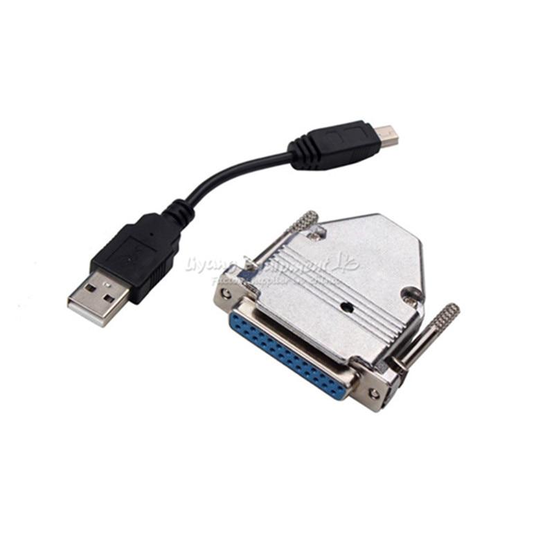 Mach 3 USB to Parallel Adapter USB CNC router machine Controller For LY-USB100 UC100 Числовое программное управление