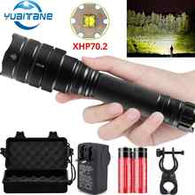 7000Lms LED Flashlight xhp70.2 Ultra Bright Waterproof linterna led Torch xhp70 xhp50 18650 Best Camping, Bicycle light,Outdoor - DISCOUNT ITEM  90% OFF All Category