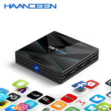 Más HK1 Super Android 9,0 Dispositivo de TV inteligente MINI PC RK3318 4K 3D Ultra HD 4G 64G TV Wifi Play Store Apps gratis Set top BOX(China)