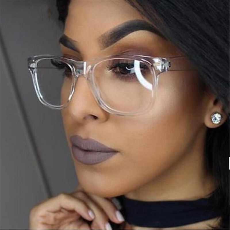 Оптическое прозрачное стекло es рамка для мужчин и женщин винтажное квадратное стекло для глаз es поддельное стекло ретро ручной работы прозрачные линзы прозрачное стекло es