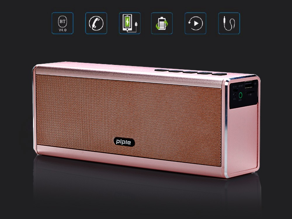 6 gold bluetooth speaker