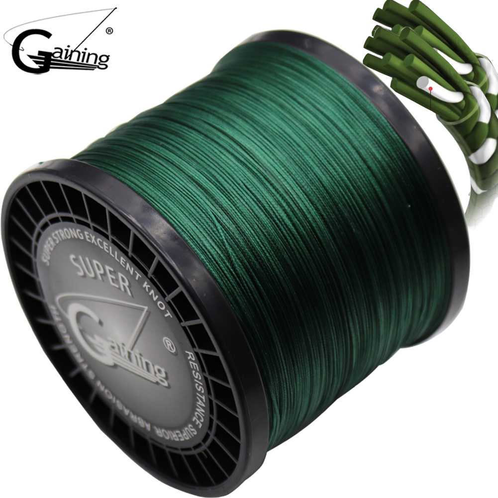 16 Strands Braided Fishing Line 1500m Super Strong Japanese Multifilament PE Braid Line 59LB 77LB 94LB