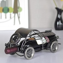 Elegant And Delicate Retro classic car metal wine rack for gift home decoration /Fashion bar wine holder /whiskey stones