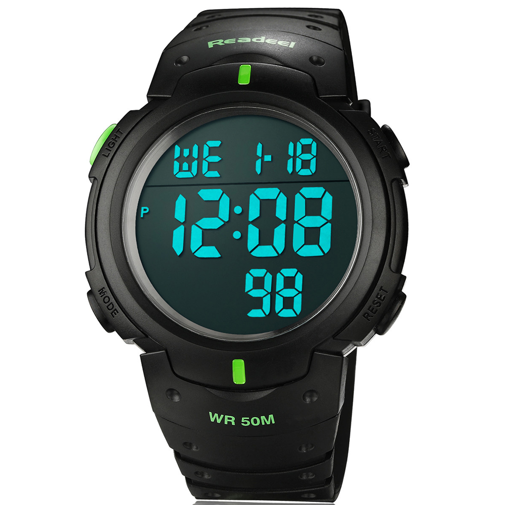 2016 Silicone Led Sports font b Watches b font Men Women Dress Children Electronic LED Digital