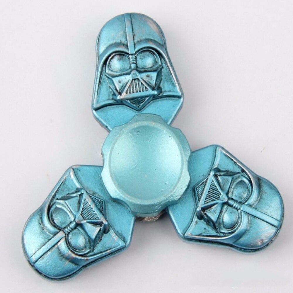 2017 New Fidget Toy Star Wars Dark Warrior Hand Spinner Finger Stress Spinner Tri Spinner