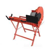 Máquinas Para Trabalhar Madeira máquina de alta potência cortador cortador de log LS400 rodada máquina de serrar madeira carpintaria ferramenta 230 V 2000 W|Serras elétricas| |  -