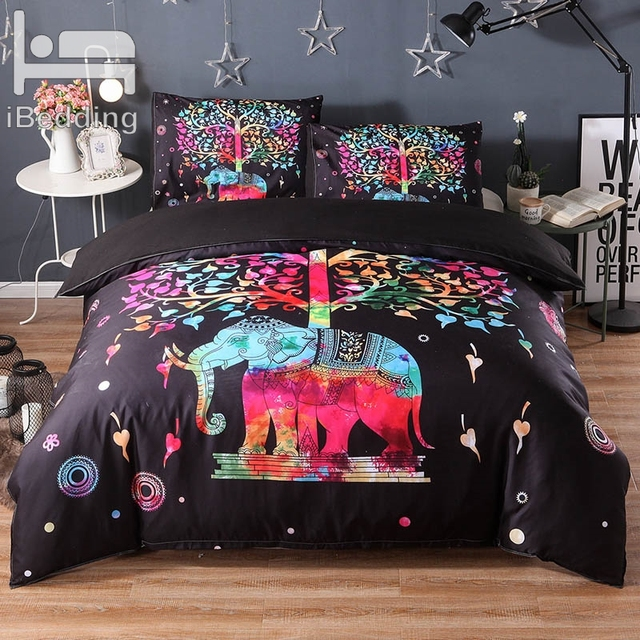 Luxury Mandala Elephant Bedding Set