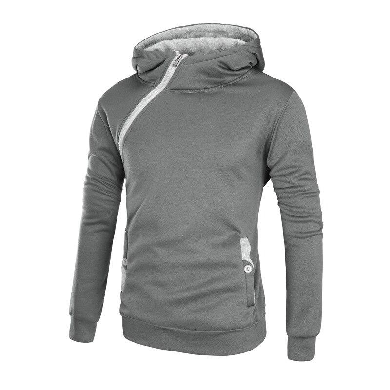 Autumn Winter New Men's hoodies cotton casual hoodies Thick Hooded zipper Long Sleeves hoodie sweatshirt