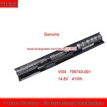 Battery 756743-001 Pavilion Probook HSTNN-LB6J HP Original for 17/15-p084no/15-p008tx/..