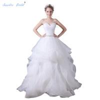 8bbff02b7c ... Suknie Ślubne Hot Sprzedaż. Sapphire Bridal Vintage Wedding Dress  Sweetheart White Ivory Elegant Long Ball Gown Organza Bridal Gowns Hot