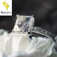14K White Gold DEF VS Moissanite Ring Lab Grown Moissanite Diamond Halo Ring For Women Engagement Wedding Party Charm Jewelry