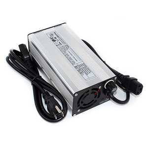 Image 2 - 58.4 v 5A LiFePO4 バッテリー充電器 16 s 48 v アルミ電子電動車椅子電動自転車/スクーター/ゴルフカート