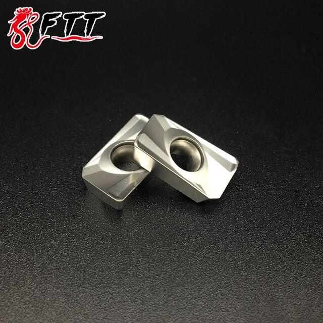 10 piezas APMT1604 PDER H2 NX2525 calidad Cermet insertos de carburo herramientas de fresado de hojas de consejos aburrido Herramientas CNC torno herramientas de corte