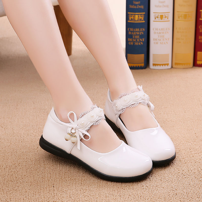 Children casual shoes girls kids spring and autumn soft bottom flats childrens Leather princess shoes xk31Children casual shoes girls kids spring and autumn soft bottom flats childrens Leather princess shoes xk31