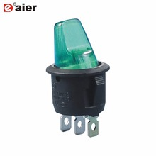 High Quality Specail Button Rocker Switch 20MM ON OFF SPST 3 Pin Auto Car Motor Switches With 12V LED Light Single Pole