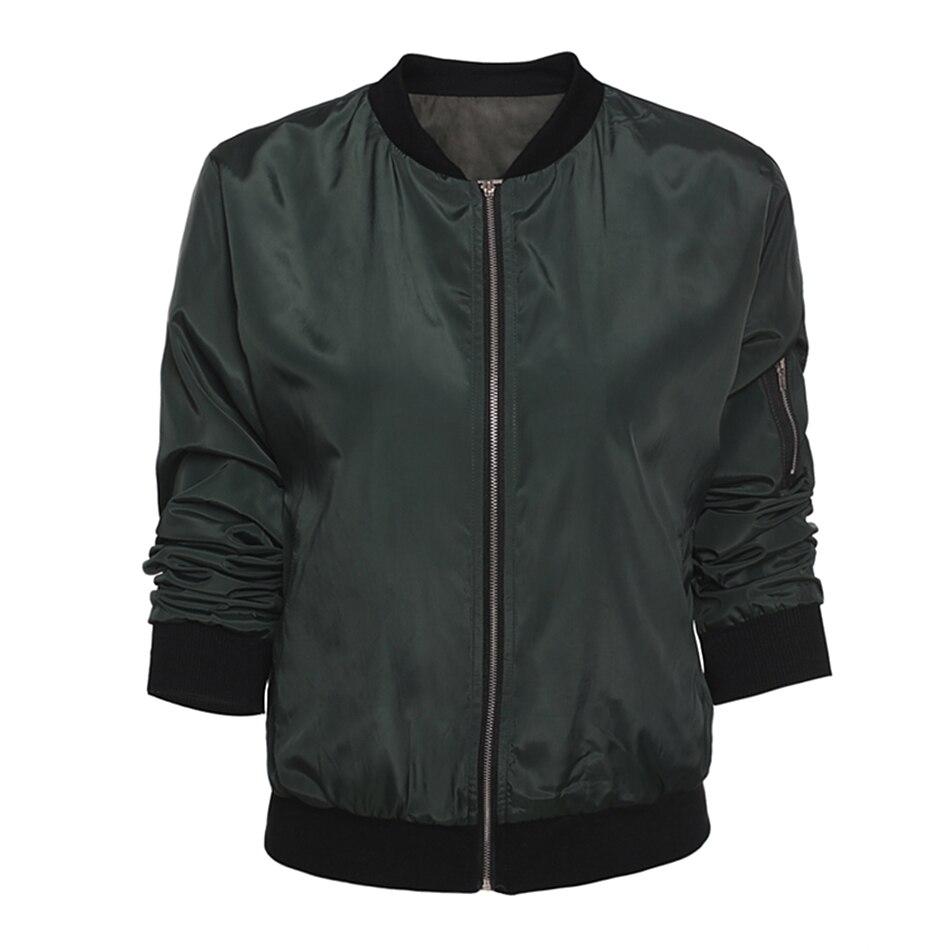 HTB1iORbJ9zqK1RjSZFLq6An2XXaO 2019 Fashion Windbreaker Jacket Women Summer Coats Long Sleeve Basic Jackets Bomber Thin Women's Jacket Female Jackets Outwear