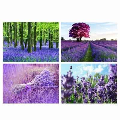 New Arrival Lavender France Style Home Decoration Painting Wall Pictures for Living Room Paris for Girls for Students Landscape