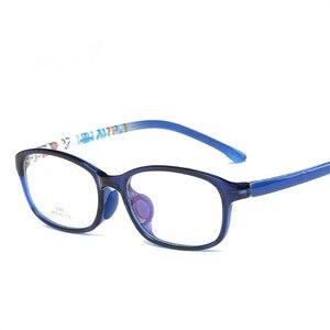 Image 2 - Childrens glasses Boy Girl Eyeglasses Lightweight Eyewear Frame Children Prescription Glasses frame Silicone nose care 686