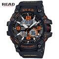 Read relógio do esporte dos homens relógio masculino digital led relógios de pulso de quartzo dos homens top marca de luxo digital-relógio relogio masculino 90001