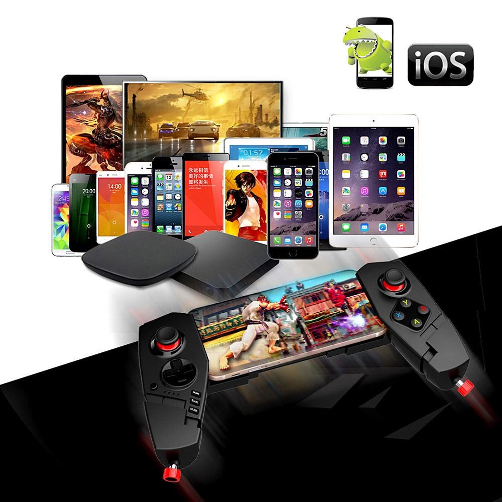 LANBEIKA PG-9055 télescopique sans fil pour téléphone Android manette de jeu Bluetooth pour PC 3.0 manette de jeu manette pour iPad IOS - 5
