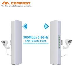 COMFAST 3-5km 300Mpbs & 900Mbps wireless AP brücke Long Range CPE 2,4G & 5,8G WIFI Signal Booster Verstärker wifi repeater router